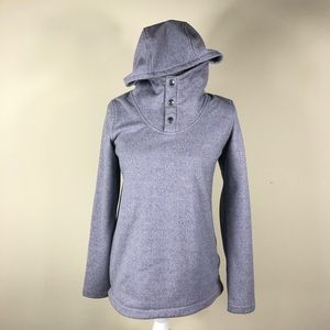 THE NORTH FACE | Knit Stitch Pullover Hoodie Small